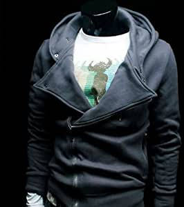 Naruto Assassin's Creed Revelations Desmond Miles Cosplay Costume Hoodie Jacket Cyan
