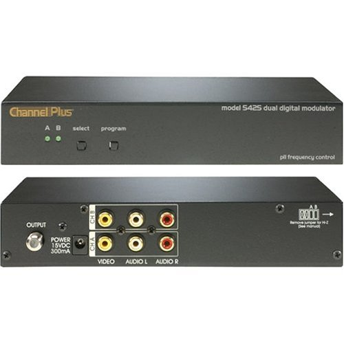 CHANNEL PLUS 5425 Dual Channel Rf Modulator