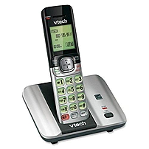 - VTech CS6519 DECT 6.0 Cordless Phone - Cordless - 1 x Phone Line - Speakerphone - Backlight