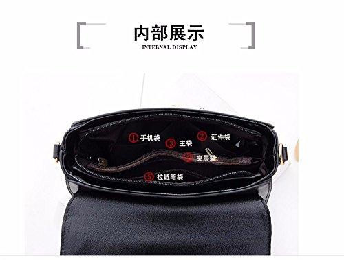 simple gifts MSZYZ small Single shoulder bag bag Black satchel fashion bag handbag Holiday SqxwHxpf
