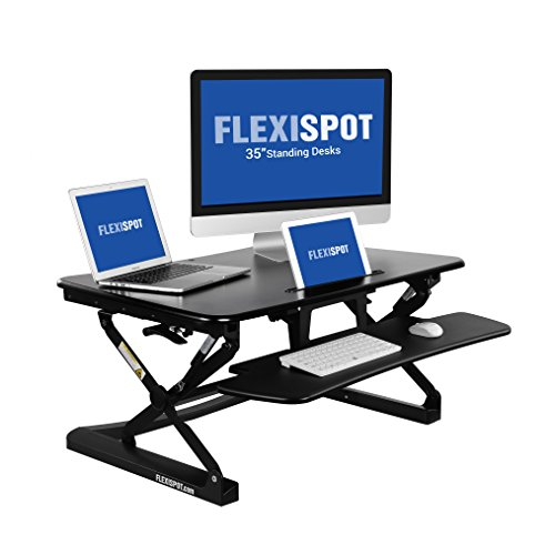 FlexiSpot 35 Wide Platform Height Adjustable Deal (Large Image)