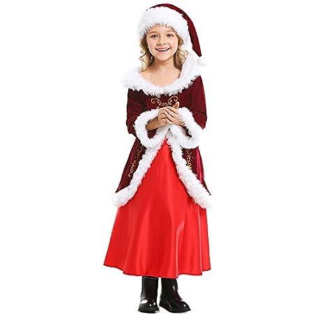 DWYRD Navidad Disfraz,Falda Larga,Halloween Cosplay,Moda Estampado ...