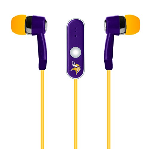 NFL Minnesota Vikings Hands Free Ear Buds with ()
