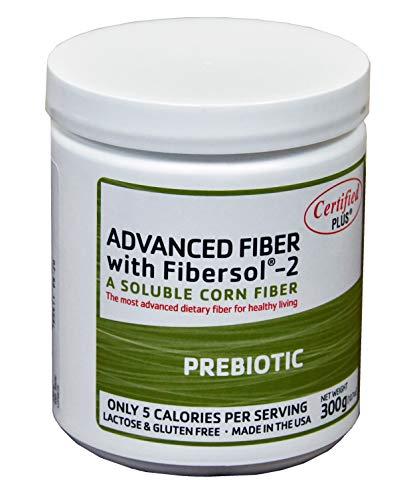 Advanced Fiber with FIBERSOL-2, Prebiotic Fiber, Dietary Fiber.