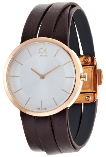 Calvin Klein K2R2M6G6 Extent Ladies Watch Brown Medium