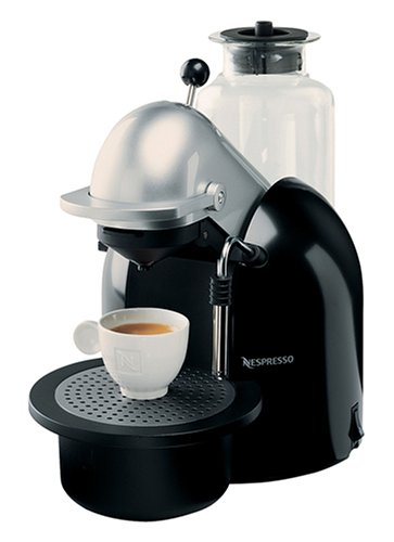 Nespresso C190S Concept Espresso Machine, Black and Silver