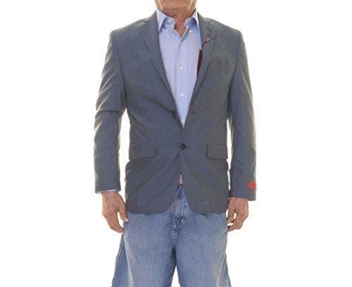 Alfani Red Slim Fit Blazer Navy Solid Wool Blend New Men's Suit Sep. (38 Short) ()