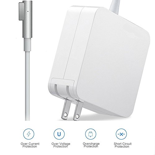 Power Adapter for MacBook Pro 60W MagsSafe 1 Charger for Apple Mac Pro 13 inch(Before Mid 2012 Models)