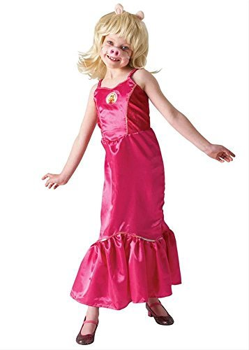 Miss Piggy Costume Women (Disney Muppets Deluxe Miss Piggy Costume (large, 7-8 Years))