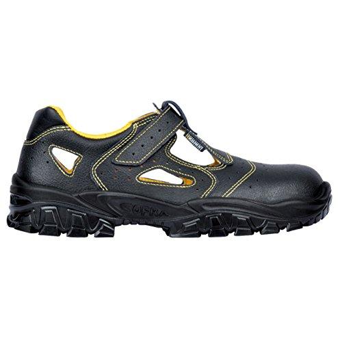 Cofra New Don S1 SRC Paire de Chaussures de sécurité Taille 45 Noir