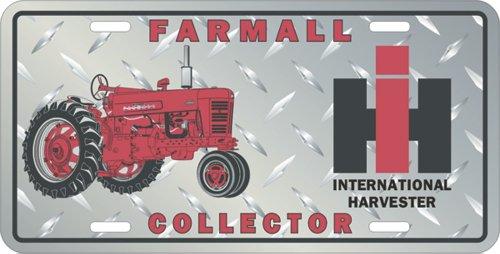 Farmall Collector Metal License Plate