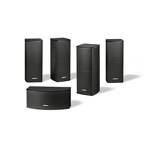 bose lifestyle 600 home entertainment system works with alexa black. Black Bedroom Furniture Sets. Home Design Ideas