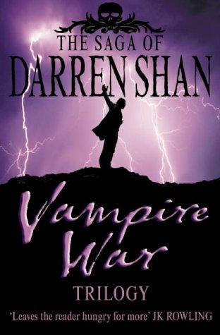 """The Saga of Darren Shan - Vampire War Trilogy - ""Hunters of the Dusk"", ""Allies of the Night"", ""Killers of the Dawn"""" av Darren Shan"