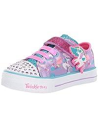 Skechers Baby-Girls Shuffle LITE Sneakers