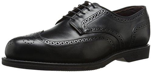 Allen Edmonds Men's LGA Oxford, Black, 10.5 D US