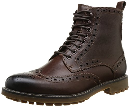 Clarks Montacute Lord, Men Boots, Brown (Brown Wlined), 8.5 UK ...