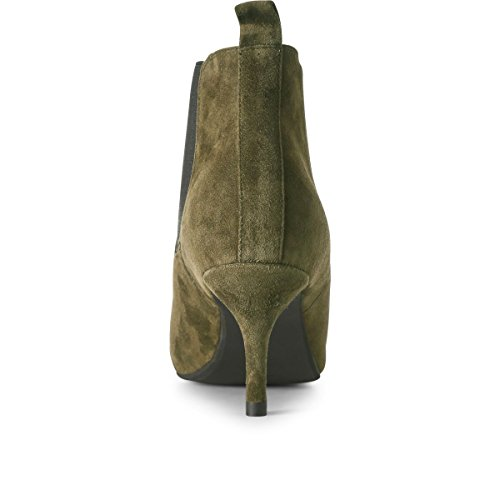 Femme Chelsea Bottes Bear Agnete the Vert Shoe 180 Green HXTfT