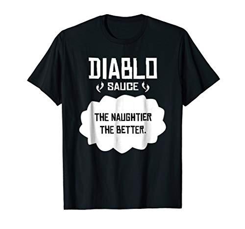 Tacos Diablo T-Shirt Sauce, Cinco de Mayo or Halloween belly -
