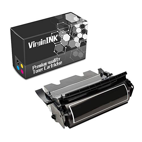 VirginInk T616 Series Printing Toner Cartridge Replacement for Lexmark Optra T616, T616n Printers(15,000 Page-Yield, Black)