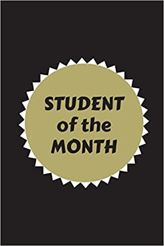 amazon com student of the month customised journal for school