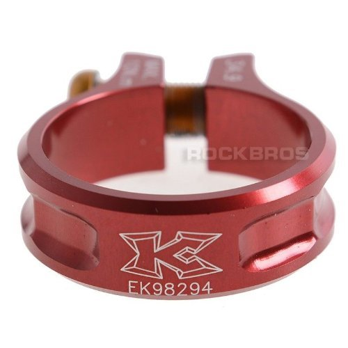 KCNC MTB Seatpost Seat Post Clamp Scandium Alloy Bolt SC11 Red 34.9mm by KCNC