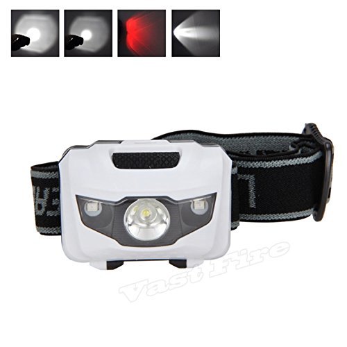 Xtreme Lighted Running Board (1 Set Imposing Fashionable 150 Lumens 3W 3 LED Mini Flashlight Headlamp 4 Mode White Red Headlight Water Resistant Ultra Xtreme Tactical Bright Light Running Hiking Hunting Fishing Camping Lights)