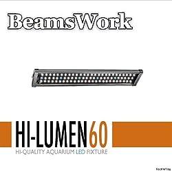 "BeamsWork 24""-30"" Hi Lumen LED Aquarium Light Fixture 60 48x0.5W"