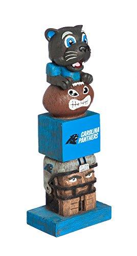 Team Sports America NFL Carolina Panthers Tiki Totem