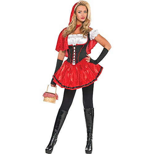 Adult Sassy Red Riding Hood Costume - Small (2-4) -
