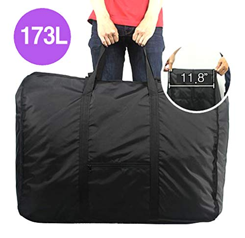 Plago Nylon Large-Capacity Travel Duffel Bag Waterproof Luggage Sport Blanket Storage Various Purposes 4Sizes (XXL(173-Liter))