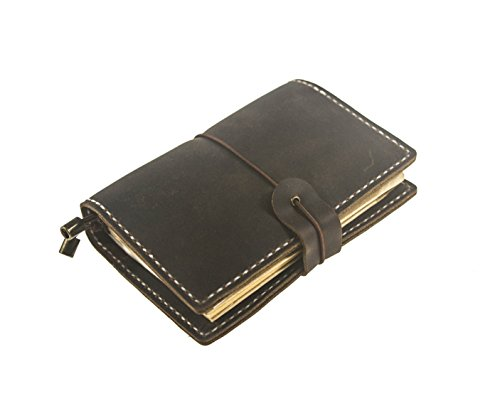 Movies That Start With The Letter X (UNIQUE HM&LN Genuine Leather Journal Notebook, Passport Wallet, Refillable, Handmade Vintage, Fountain Pen Users, Perfect for Writing, Personalized Gift)
