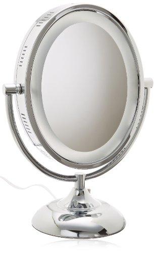 Jerdon HL958C 8 Inch Lighted Magnification