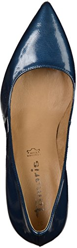 Tamaris - Zapatos de Tacón Mujer Azul - azul marino