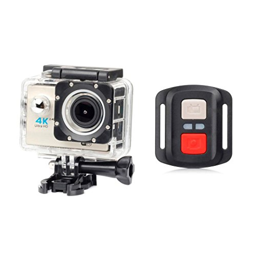 GOTD New 1080P HD WIFI Remote H16R Action Sports Camera Camcorder, Beige by Goodtrade8