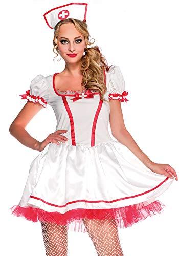 - Wonderland W40014 Women's Costume White Red L (EUR 42-44)