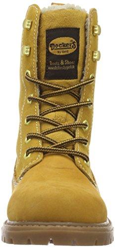 Dockers by Gerli 19pa338-300910, Bottes Courtes Femme Jaune - Gelb (Golden Tan 910)