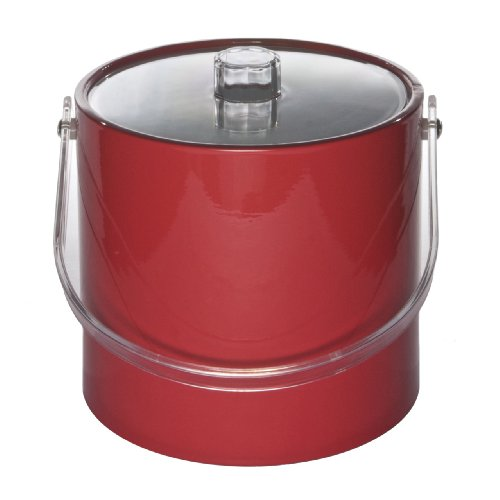 Ice Bucket 707-1 Regency 3-Quart Ice Bucket, Red