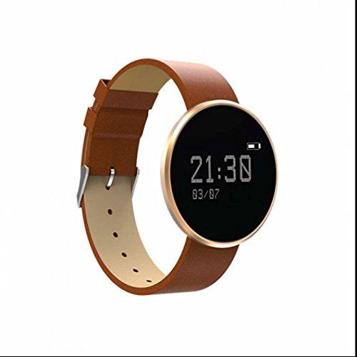 Bracelet Connecté Podomètre,Intelligent Bracelet Avec Bluetooth Le Sang de Soutien Remise En Forme de L'oxygène Bracelet Sommeil Coeur Taux Tracker Pour iOS Android