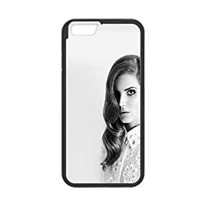 iPhone 6 Plus 5.5 Inch Cell Phone Case Black Lana DelRey Black And White K2L2SG