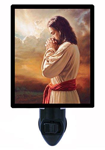 Night Light - Our Father - Jesus Praying - (Jesus Light)