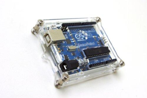 Geauxrobot arduino uno r enclosure case clear buy