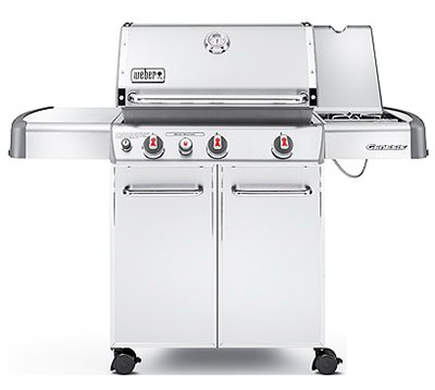 Weber Genesis S-330 Stainless-Steel 637-Square-Inch Grill