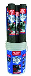 Oil-Dri L90695 Needle Punched Polypropylene Garage Guard Mat with Display Bucket, 5\' L x 3\' W, 7 Roll per Pail