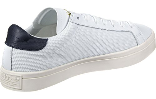 adidas Courtvantage - Tobillo bajo Unisex adulto Blanco (Footwear White/footwear White/collegiate Navy)
