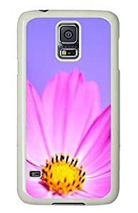 Samsung Galaxy S5 Nature flower 2 PC Custom Samsung Galaxy S5 Case Cover White