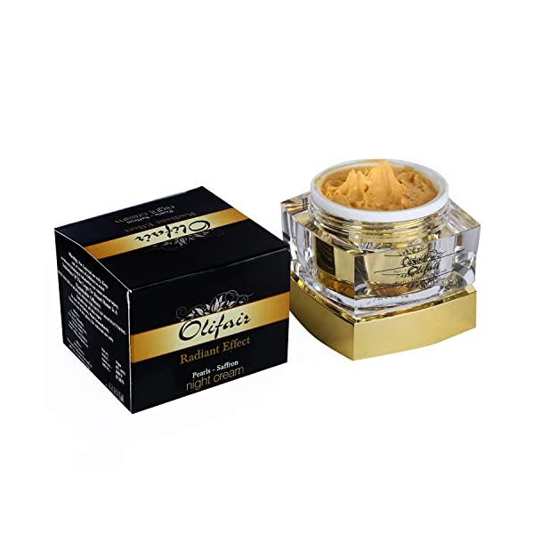 Olifair Pearls Saffron Night Cream 50g 2021 June Glowing effect visible on face within two weeks of usage No better cream available in the market for fairness