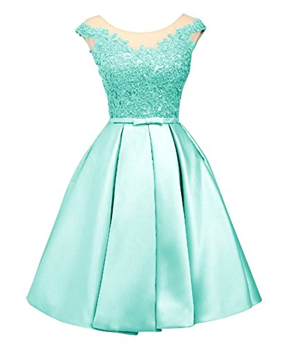 03843daf7706 LanierWedding Women s Floral Lace Prom Dresses Short 2017 Cap Sleeve Retro  Vintage Swing Dress Cocktail Dresses