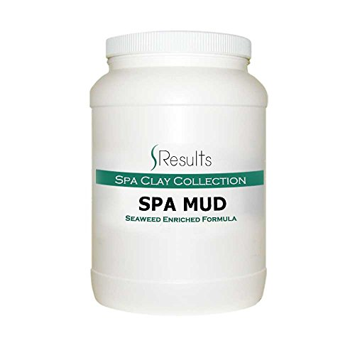 Spa Mud (Seaweed) Body Wrap Detox & Anti-cellulite Slimming Formula - x-large size jar for multiple treatments
