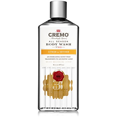 Cremo All Season Body Wash - Citron & Vetiver, 16 ounce