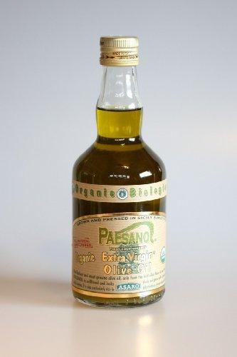 (Paesano USDA Organic Unfiltered Extra Virgin Olive Oil - 17oz. Bottle)
